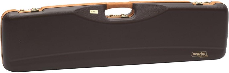 Negrini O/U Leather Trim Shotgun Case In Abs With Barrel Upto 32 3/4-Inch