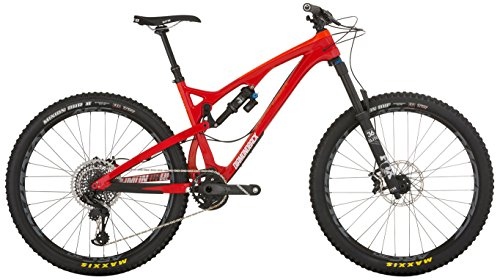Diamondback Bicycles Release 5 C Carbon Full Suspension Mountain Bike, 21'/X-Large, Red