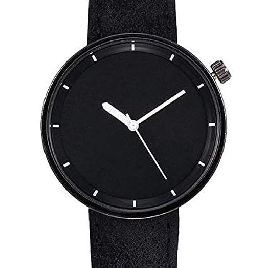 Scpink Relojes de Cuarzo para Mujer Liquidación Relojes de Pulsera para  Mujer Relojes analógicos Relojes de Cuero para Mujeres (Negro)  Amazon.es   Relojes 706bf1f11c4d