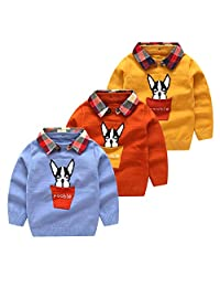 64508358a Amazon.ca  Orange - Sweaters   Baby Boys  Clothing   Accessories