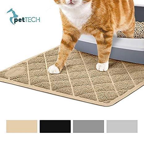 PetTech Jumbo Estera de Arena para Gato, 89 x 58 cm, diseño de Moda, ...
