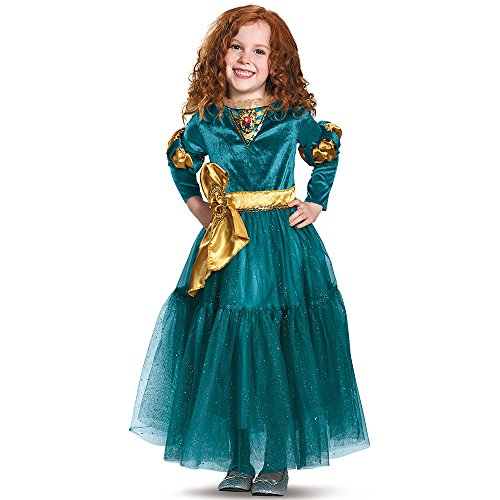 Merida Deluxe Disney Princess Brave Disney/Pixar Costume, (Princess Brave Costume)