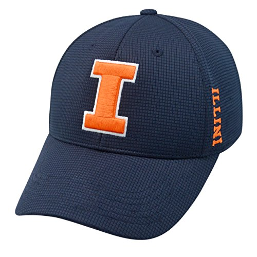 (Top of the World Illinois Fighting Illini Official NCAA One Fit Tow HAT)