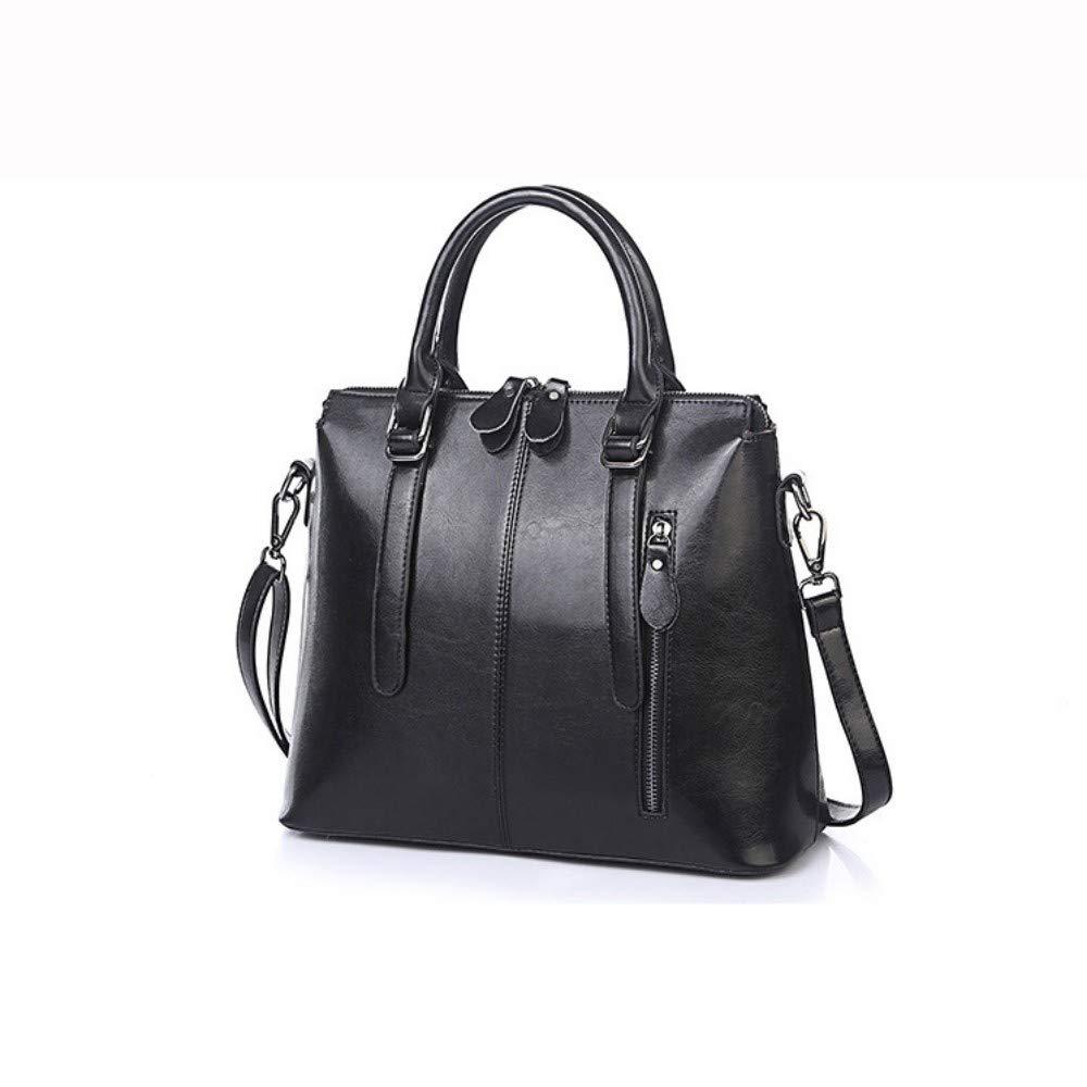 XUZISHAN Tasche Für Büro Damen Handtasche Aus Echtem Leder Frauen Einfach Weibliche Designer Schulter Crossbody-Tasche Große Tote B07Q29CLWY Damenhandtaschen Einfach zu bedienen
