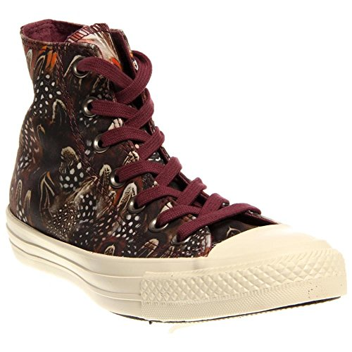 Converse Womens Chuck Taylor All Star Oriental Hi-Top Oriental Violet Sneaker - 5 - Converse Women High Top Purple