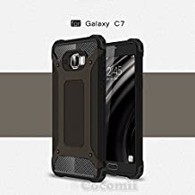 Galaxy C7 / C7 Pro Case, Cocomii Commando Armor NEW [Heavy Duty] Premium Tactical Grip Dustproof Shockproof Bumper [Military Defender] Full Body Dual Layer Rugged Cover Samsung C7000 C701F (Black)