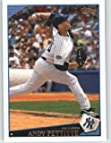 2009 Topps Baseball Card # 418 Andy Pettitte - New York Yankees - MLB Trading Card