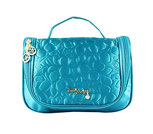 jacki-design-royal-blossom-embossed-hanging-travel-bag-makeup-organizer-blue-abd14026