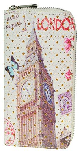 Immerschön stylishe Damen-Geldbörse Brieftasche Portemonnaie Foto gb 1 Modell 5 j5yZlm