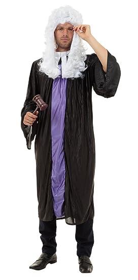 Amazon.com: Bristol Novelty AC223 Judge Gown Costume, 42-44 ...