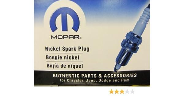Amazon.com: JEEP GRAND CHEROKEE SRT8 6.1L HEMI SPARK PLUGS MOPAR: Automotive
