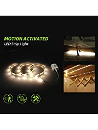 Under Cabinet Lighting Motion Activated Led Strip Lights Kit For Cabinet Closet Kitchen Counter