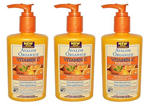 avalon-organics-refreshing-cleansing-gel-vitamin-c-85-ounces-pack-of-3