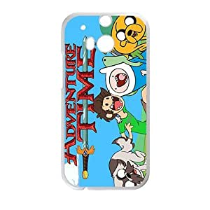 Happy Aadventure time Case Cover For HTC M8 Case by icecream design