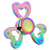 Kekilo Fidget Spinner Rainbow Colorful Hand Spinner EDC Focus Hand Spinning Toy Time Killer Stress Reliever High Speed Spinning Toy Gifts Perfect for ADD, ADHD, Anxiety, Boredom and Autism Adult Kids (K8)