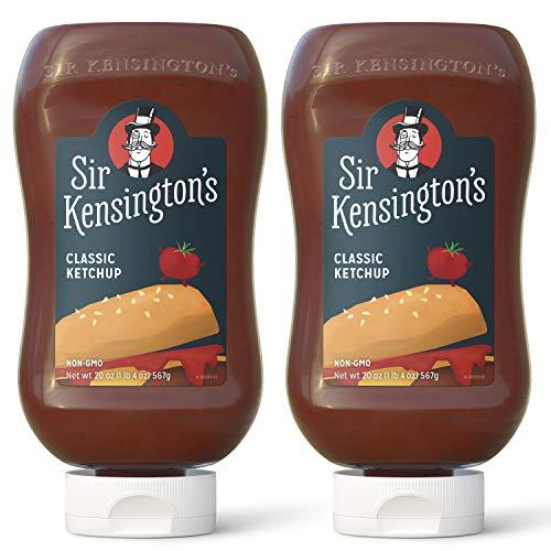 Sir Kensington's Classic Ketchup 20 oz, 2 Pack