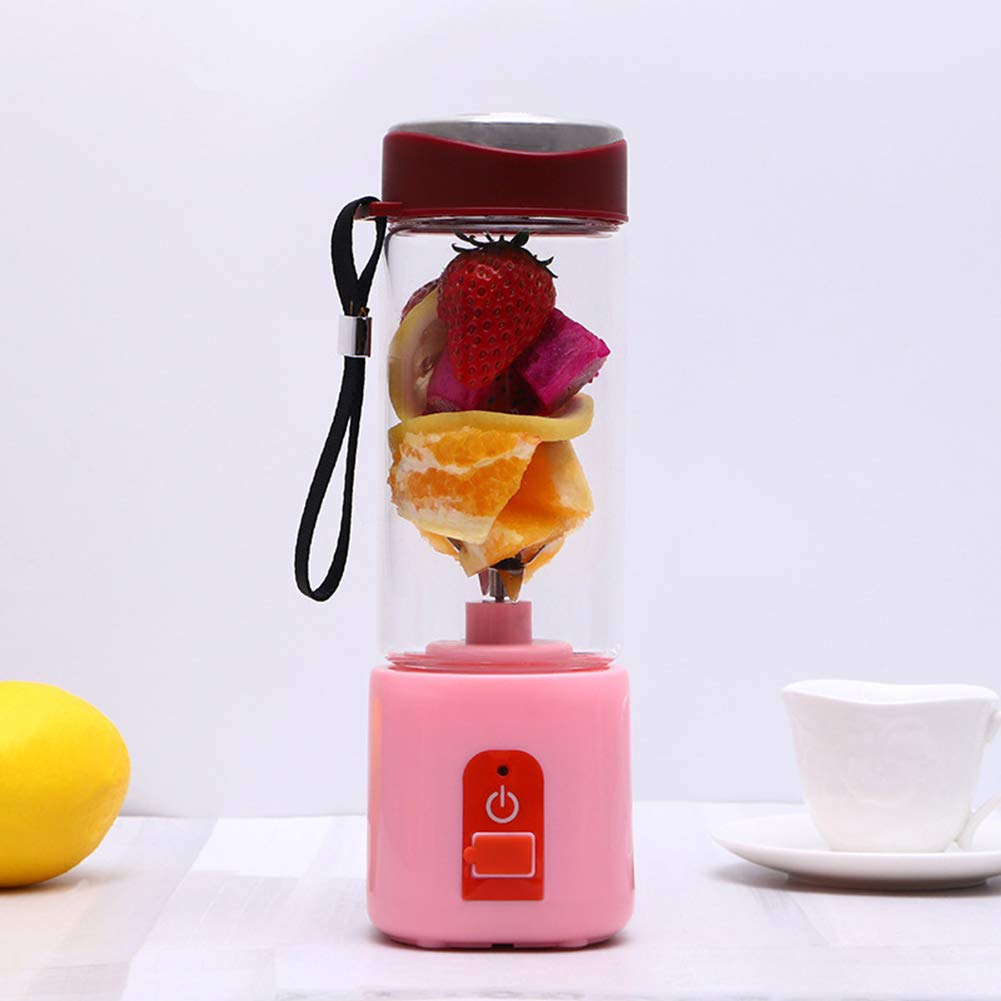 GMtes Licuadora portátil USB Juicer Cup, Mini máquina mezcladora ...