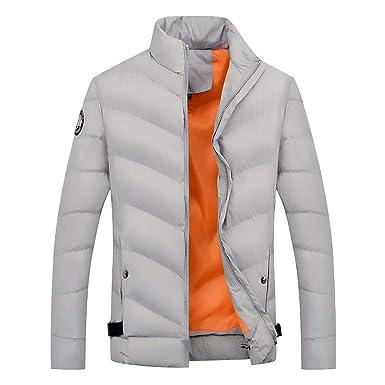 Outwear Jacke Button Daunenjacke Herbst Anorak Stehkragen