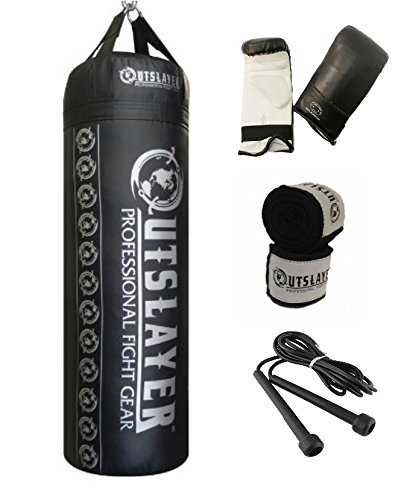 Outslayer 80lb Boxing and MMA Punching Bag