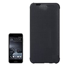 Iphone Case Cover, For HTC One A9 Mesh Horizontal Flip Silicon + PC Hard Case with Sleep / Wake-up Function Case Mobile ( Color : Grey )