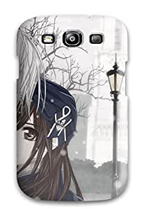 Pretty VsnpRVl1362qQbpR Galaxy S3 Case Cover/ Young Anime Hugging Series High Quality Case by icecream design