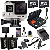 GoPro HERO4 Black Edition 4K Action Camera Camcorder 48GB Bundle 3