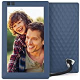 Nixplay Seed 7 Inch WiFi Cloud Digital Photo Frame with IPS Display, iPhone & Android App, Free 10GB Online Storage and Motion Sensor (Blue)