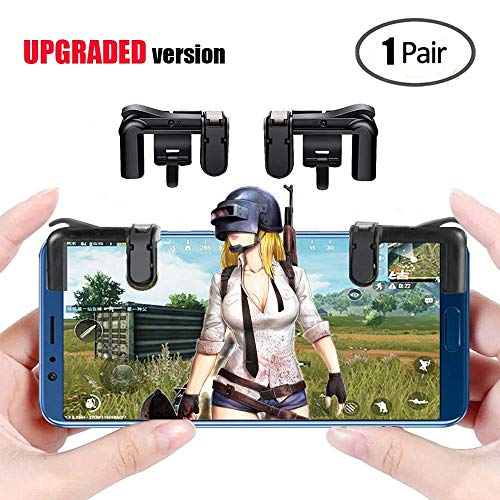 MANATEK PUBG Mobile Game Controller - Sensitive Shoot and Aim Triggers for PUBG/Knives Out/Rules of Survival - L1R1 Mobile Game Trigger Phone Game controller for Android iPhone