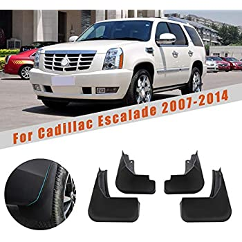 Escalade Tahoe Mud Flaps 2007-2014 Mud Guards Splash Guards Molded 2 Piece Front