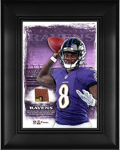 Lamar Jackson Baltimore Ravens Framed 5