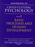 img - for Handbook of Cross-Cultural Psychology, Volume 2: Basic Processes and Human Development (2nd Edition) book / textbook / text book
