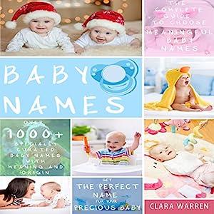 Baby Names Audiobook
