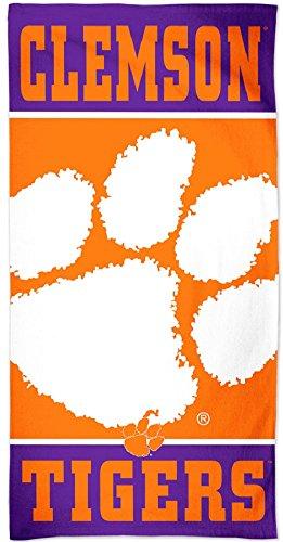 Clemson Tigers Beach Towel, Clemson Beach Towel, Clemson