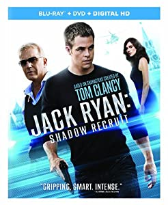 Cover Image for 'Jack Ryan: Shadow Recruit (Blu-ray + DVD + Digital HD)'
