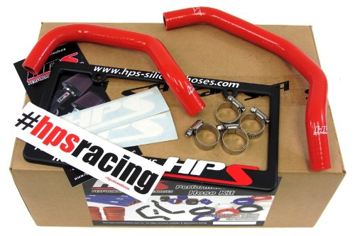 HPS 57-1342-RED-2 Red Silicone Heater Hose Kit (Coolant)