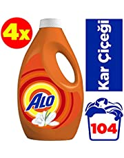 Alo 26x4 (104 yıkama) Sıvı Deterjan Kar Çiçeği Beyazlar ve Renkiler