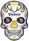 Applied Icon, NFL Minnesota Vikings Large Skull Primary Decal