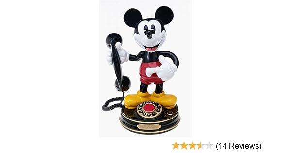 cddaf22bf3ceb4 Amazon.com : Telemania Mickey Mouse Animated Phone : Corded Telephones :  Electronics