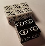 10x Counter & Loyalty 1-6 Dice for Magic: The Gathering and other games / CCG MTG