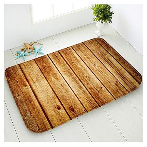 Cheap  Hidecor Front Door Mat Welcome Outdoor Indoor Rustic Old Barn Wood Doormat..