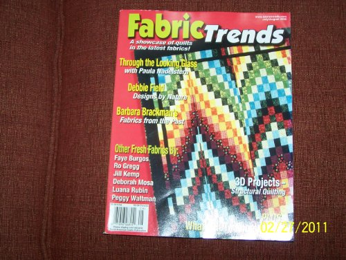 Fabric Trends Magazine JULY/AUGUST - Magazine Trends Fabric