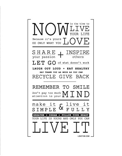Love to Be Now is the Time Wall Stickers Inspiration Wall Decals