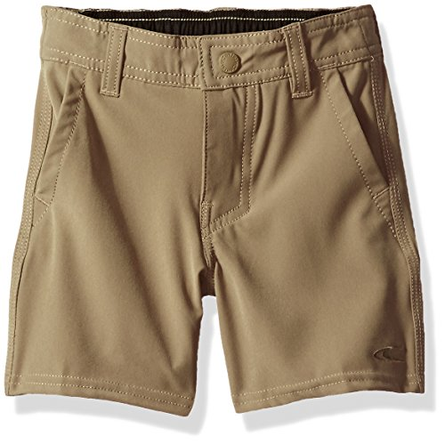 O'Neill Boys' Little Loaded Solid Hybrid Short, Khaki, ()