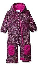 Columbia Baby Hot-tot Suit, Deep Blush Snow Splatter, 18-24 Months