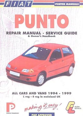 buy fiat punto repair manual service guide book online at low rh amazon in manual de taller fiat punto 1.3 jtd manual do fiat punto 2013