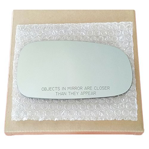 Mirror Glass and ADHESIVE 2003-2011 Saab 9-3 or 2003-2009 Saab 9-5 Passenger Right Side Replacement (95 Glasses)