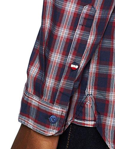 Lollipop Casual Jeans Tommy Manches Iris Chemise Bleu Longues Homme Check 902 black qFv4wOf