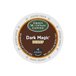Green Mountain Coffee Roasters 4067CT Dark Magic Decaf Extra Bold Coffee K-Cups, 96/carton