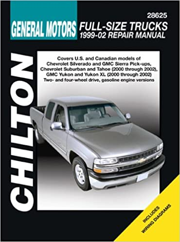 Gm full size trucks 1999 through 2002 chiltons total car care gm full size trucks 1999 through 2002 chiltons total car care repair manuals jeff kibler 9781563925573 amazon books publicscrutiny Gallery
