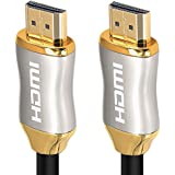 KIN&P HDMI Cable 40ft Ultra High Speed 18Gbps HDMI cables 2.0/1.4a Support 3D 2160P, HD 4k,Ethernet,Audio Return Channel,Lossless Audio and Video Transmission- Full Hd [Latest Version]